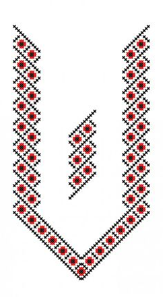 Ukraine, from Iryna Tatting Patterns Free, Easy Cross Stitch Patterns, Cross Stitch Borders, Cross Stitch Designs, Hand Embroidery Flowers, Folk Embroidery, Cross Stitch Embroidery, Embroidery Patterns, Machine Embroidery