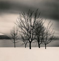 The impressive photography of Michael Kenna... And yes, I miss the winter...