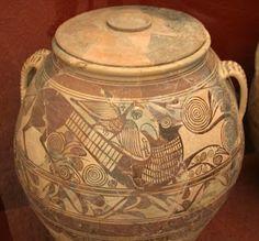 Vasija fenicia,siglo VIII a.c.  Hallada en Andalucia  Museo N. de Arqueologia