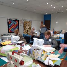 The ladies were busy, busy, busy at our leap Weekend Quilting retreat! Why not come and join us and escape for the weekend at one of our upcoming retreats? Busy Busy, Me Time, Toddler Bed, Quilting, Join, Sewing, Fabric, Pattern, Home Decor