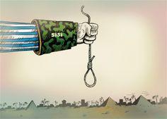 Sisi, 529 İdam, katliam, Mısır, Egypt