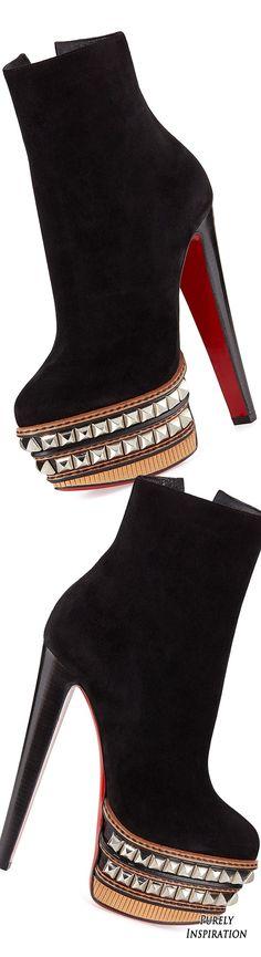 Fashion store on Christian Louboutin Faolo Bootie + – Women's Jewelry Teen Fashion, Fashion Shoes, Fashion Trends, Latex Fashion, Runway Fashion, Fashion Models, Style Fashion, Fashion Inspiration, Fashion Accessories