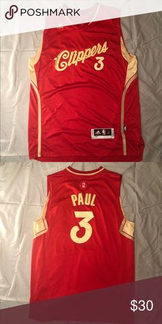 0233532ff Chris Paul Clippers Jersey This is a remake Chris Paul Clippers Jersey.  This has only