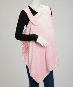 Another great find on #zulily! Pink Dimple Dot Nursing Cover #zulilyfinds posible idea for crocheting one of these