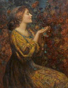 Thomas Edwin Mostyn (British, 1864-1930), Jewels.
