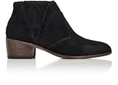 ESQUIVEL Chelsea Calf Hair Boots. #esquivel #shoes #boots Esquivel, Chelsea Boots, Slip On, Booty, Heels, Hair, Leather, Collection, Shopping