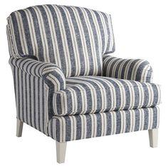 Coastal stripe armchair