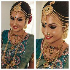 Wedding Looks, Bridal Makeup, Indian Jewelry, Brides, Jewellery, Ornaments, Hair, Accessories, Jewels