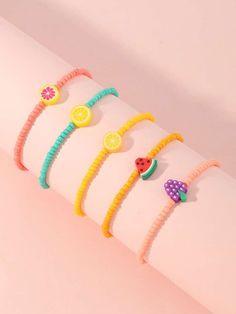 Handmade Wire Jewelry, Diy Crafts Jewelry, Funky Jewelry, Cute Jewelry, Handmade Bracelets, Beaded Bracelets Tutorial, Bracelet Patterns, Bracelet Designs, Bead Jewellery