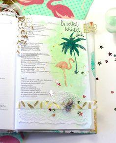 Psalm 121,3  Er selbst behütet Dich Bibel, bibleartjournaling