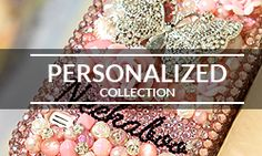 Bling Cases, Crystallized monogram vintage design case for iphone 6/6s Plus, iphone 5/5s, Samsung Galaxy S7, S6, S5, Note 5, Note 4, LG, HTC, Sony – LuxAddiction.com