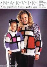 knitting mondrian