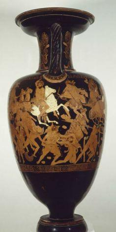 Le combat des Dieux et des Géants (410-400)