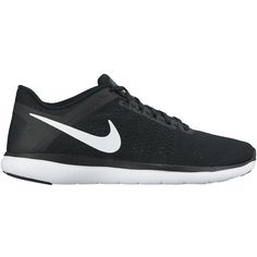 Nike Womens Flex Run 2016 Running Shoes (1,405 MXN) ❤ liked on Polyvore featuring shoes, athletic shoes, sneakers, flexible shoes, athletic running shoes, rubber sole shoes, lightweight running shoes and running shoes