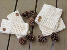 crochet boot cuffs free patterns | Crochet Dreamz: Brooklyn Boot Cuffs, Free Crochet Pattern