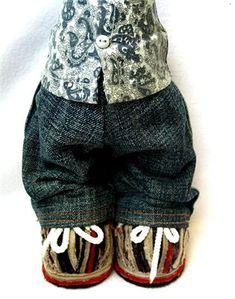 МК по созданию выкройки брюк и их пошиву. (Индивидуально для каждой игрушки)