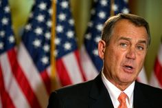"""Selfish, Selfish, Selfish. The House Speaker is urging the passage of his """"Plan B"""" fiscal cliff plan, which will essentially be a tax hike. With his speakership on the line, John Boehner has given up trying to do what's best for the country"""