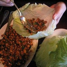 PF Chang Lettuce Wraps