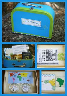Here are some suggestions on how you can make Little Passports Montessori-inspired and have it work for multiple ages; perfect for homeschools!