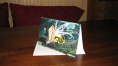 IL Usiva Luminae  5.5x8.5  Blank Note Card / Greeting Card FREE SHIPPING. $4.00, via Etsy.