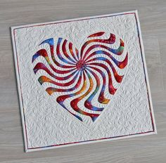 By Geta/heart quilts/all raw edge applique