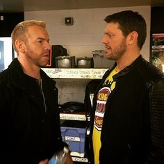"""""""Edge and Christian talk strategy for hosting #SmackDown now on Syfy!"""""""