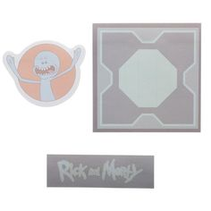 12ef9b1cb2155 Rick and Morty Sticky Notes Rick and Morty Stationary Rick and Morty Gift -  Rick