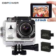 DBPOWER Original EX5000 WIFI Series Action Camera Waterproof 1080P