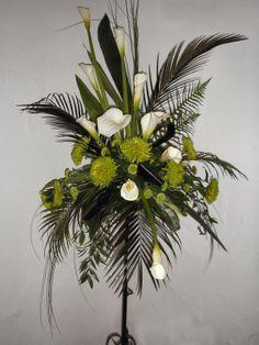 Floral Arrangement for Church Service | Church wedding flowers