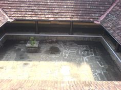Top view of the nadumuttam at Varikasseri mana...near Ottapalam town, Palakkad district,Kerala