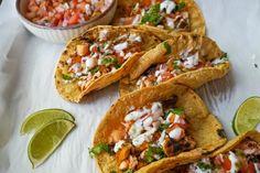 Shazia on May 12 2020 food Tandoori Fish, Salmon Tacos, Lemon Salmon, Healthy Weeknight Meals, Recipe Today, Fish Recipes, Soup Recipes, A Food, Food Processor Recipes