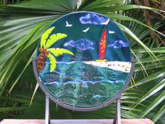 DRIFT AWAY - Delphi Stained Glass