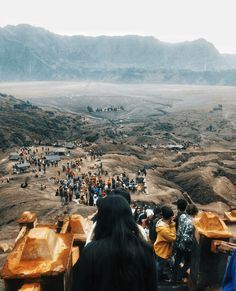 Trek to Mount Bromo in Indonesia: A trek to Mount Bromo is one of the most adventurous things to pursue while in Indonesia. It is an active volcano, making it a very thrilling spot. Mount Bromo is situated in the midst of a plateau, surrounded with mountains, giving a spectacular view of the ridge itself. Find out more in this blog. #blog #travelblog #travel #trekking #volcano #indonesia