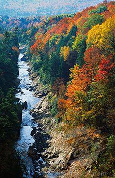 Quechee Gorge, Vermont More