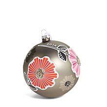 2014 Ornament in Cheery Blossoms | Vera Bradley