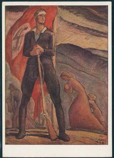 3rd Reich Sudetenland Freikorps Propaganda Card