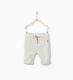 Roll-up trousers-Trousers-Baby boy (3 months - 3 years)-KIDS | ZARA United States