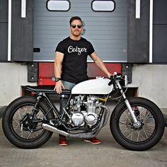 Honda CB 550 cafe ra