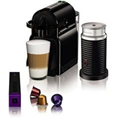 Magimix Nespresso Inissia Coffee Machine with Aeroccino - Black