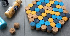 Wine cork trivet - Everyday Dishes & DIY