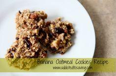 Banana Oatmeal Cookies Recipe (As low as just 2 Ingredients needed!)