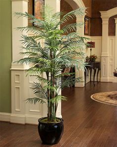 Attrayant Reed Palm Tree   6ft Palm Tree Plant, Fake Palm Tree, Fake Trees,