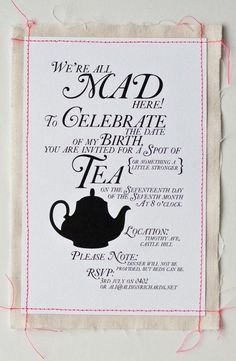 tea party invitation favorite-places-and-spaces