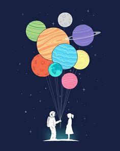 Interstellar love.