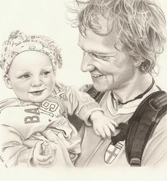 Portrait in pencil - made by me :)