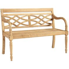 Ballard Designs Ceylon Teak Garden Bench ($429) ❤ liked on Polyvore featuring home, outdoors, patio furniture, outdoor benches, outdoors patio furniture, teak patio furniture, teakwood patio furniture y teak outdoor garden furniture