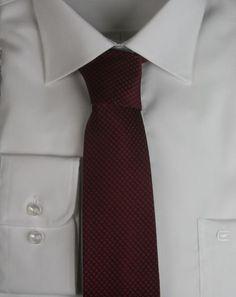 Casa Moda Krawatte extralang 352330902-400 Bordeauxrot