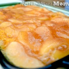 Architecture of a Mom: Apple Pumpkin Cake Yummy 3 ingredient #easy #cake #recipe