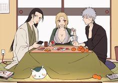 Naruto Shippuden Sasuke, Jiraiya And Tsunade, Naruto And Sasuke, Gaara, Naruto Comic, Anime Naruto, Naruto Fan Art, Anime Chibi, Anime Manga