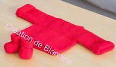 CHAPITRE 14 - Tricoter une brassière niveau débutante, en un seul morceau. Modèle gratuit. - L'atelier tricot de Mam' Yveline.